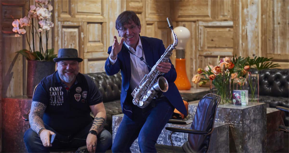 Michael Hornstein Saxophonist München Presse