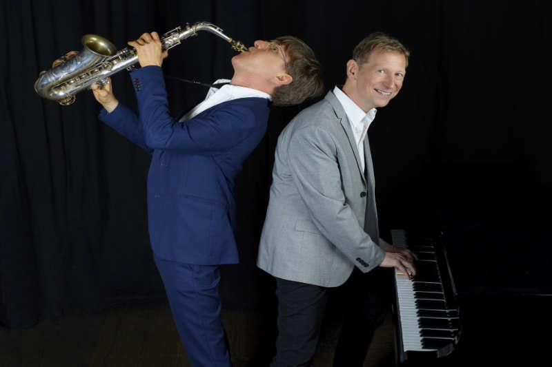 Saxophonist München buchen mit Pianist
