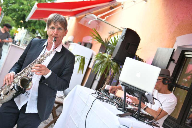 Saxophonist München und DJ für Feier, Hochzeit oder Event