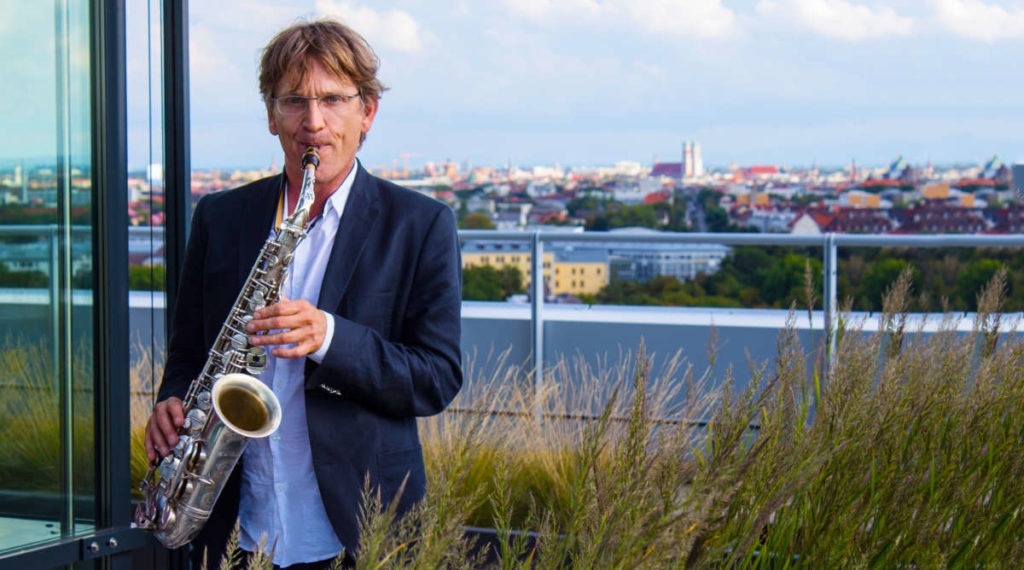 Saxophonist Michael Hornstein: Solosaxophonist, Saxophonist im Duo mit Pianist, Saxophonist mit DJ
